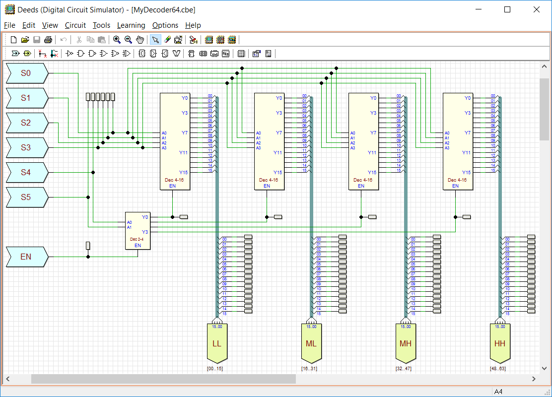 Deeds Screen Shots Circuit Diagram Simulator The